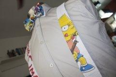 Pajarita con Tirantes Bart Simpson